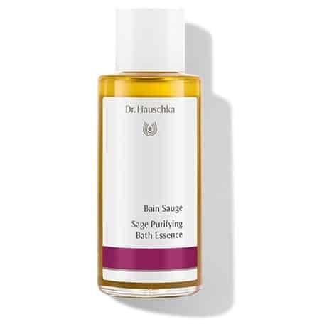bain a la sauge Dr. Hauschka - aux petits soins nature - salon de beauté hammam Simorre